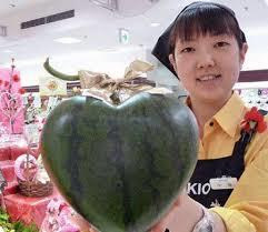 heart melon